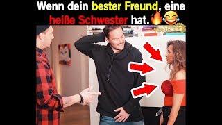 Wenn dein bester Freund, eine heiße Schwester hat. 🔥😅 | Best Trend Videos