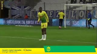 LIVE  - Olympique de Marseille  FC Nantes | Suivez l'avant-match ensemble