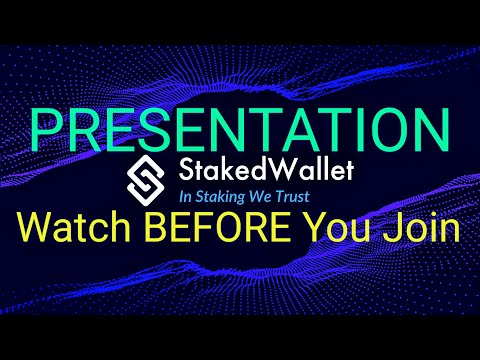 🔴 Staked Wallet Presentation Review – Watch BEFORE You Join stakedwallet.io