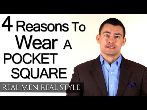 Reasons To Wear Pocket Square