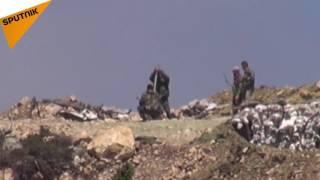 بالفيديو: هكذا أفشل الجيش السوري هجوم المسلحين على ريف اللاذقية