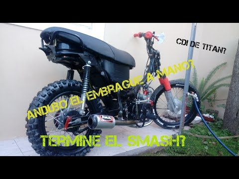 Gilera Smash 110 ENDURO?