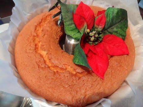 Easy Recipe for Pao de Lo - Portuguese Sponge Cake
