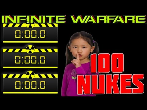 My Dirty Secret to De-Atomizer Strikes #Silence | My 100th Nuke - Call of Duty Infinite Warfare