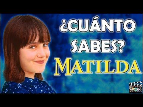 "¿Cuánto Sabes Sobre ""MATILDA""? Test/Trivia/Quiz"