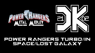 Power Rangers Turbo/In Space/Lost Galaxy - Opening Themes Medley [Metal Mix]