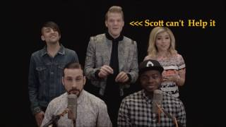 Pentatonix Can't be serious at all times(Try not to laugh)