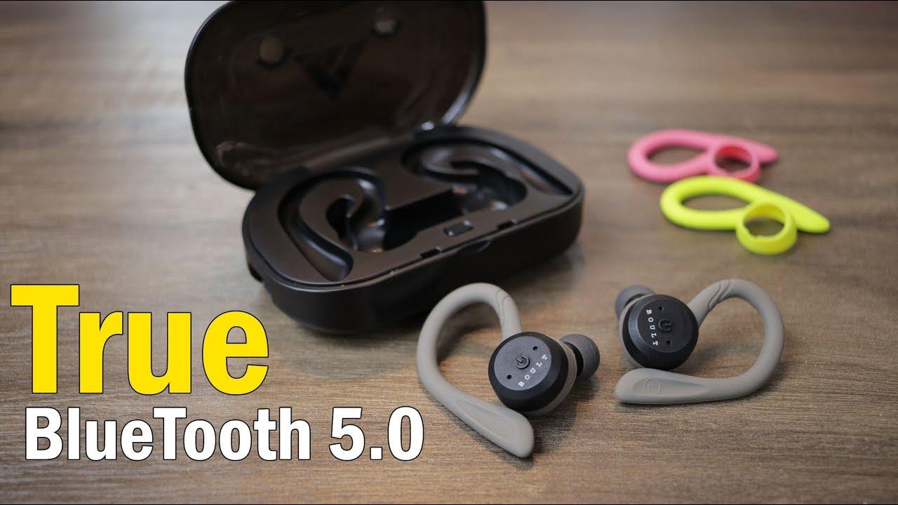 d53331efaea Boult Audio Tru5ive Bluetooth 5 Wireless Earphones for Rs. 2,819/- comes  with earloop