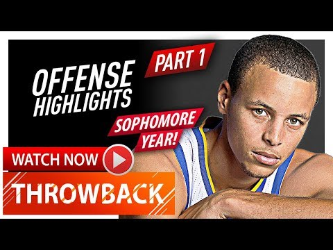 Stephen Curry Sophomore Year Offense Highlights 2010/2011 - Future Champion! (720p HD) Part 1