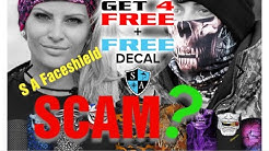 SA Face shield SCAM ? safishing.com