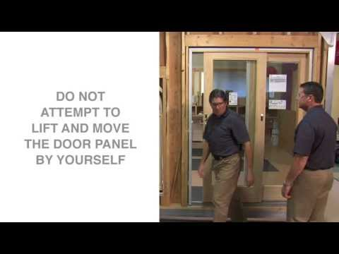 How To Replace and Adjust Rollers on Andersen® Gliding Patio Doors