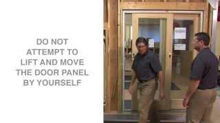 replacing and adjusting rollers on gliding patio doors andersen windows