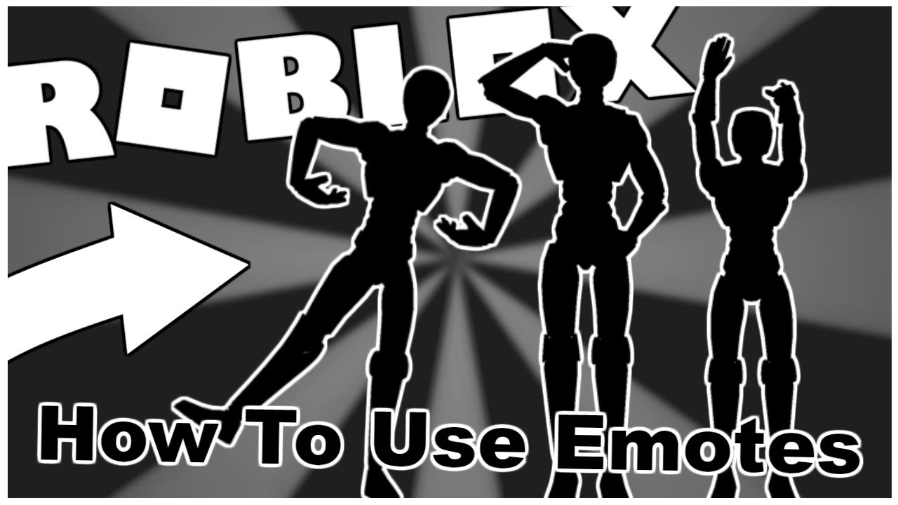 Working How To Use The New Emotes Roblox Youtube