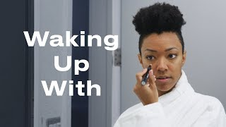 Star Trek Star Sonequa Martin-Green's Morning Routine | Waking Up With | ELLE