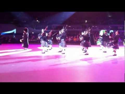 Musikschau der Nationen 2012 Owl Town Pipe & Drum Band