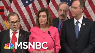 Nancy Pelosi Speaks Before Delivering Articles Of Impeachment To The Senate | MTP Daily | MSNBC