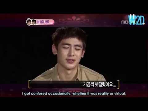 Khuntoria Nichkhun is confused between virtual and reality Eng sub