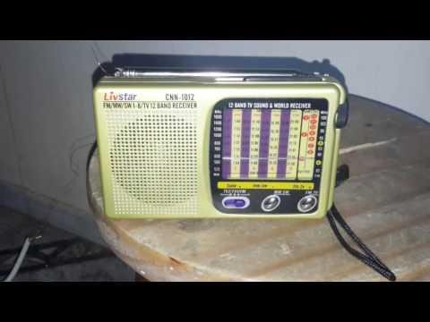 Escutando Ondas Curtas LIVSTAR 1012  RADIO CHINA internacional
