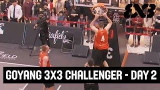 Re-Live - FIBA 3x3 - GoYang 3x3 Challenger 2018 - Day 2