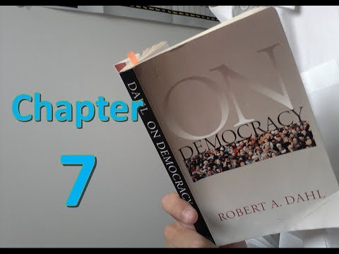 On Democracy: Chapter 7: Why Political Equality 2? Civic Competence