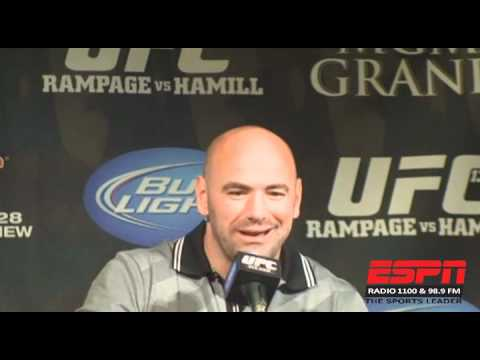 UFC 130 presser: STANN on dealing with publicity from military background