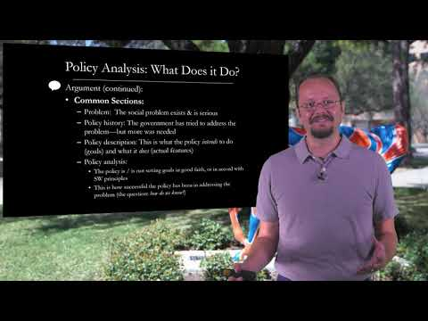 Policy Paper Tutorial - Part 1