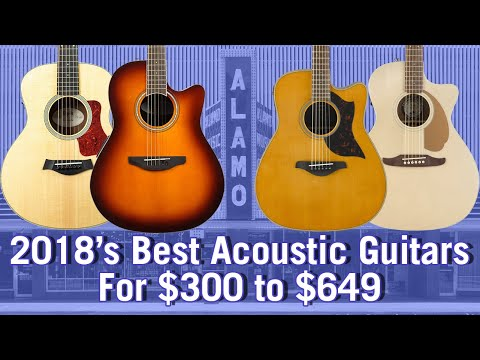 2018 Best Acoustic Guitars For $300 to $649 - Buyer's Guide And Comparison