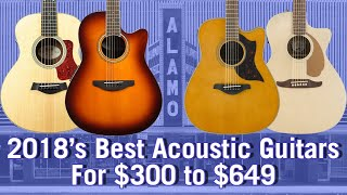 2018 Best Acoustic Guitars For $300 to $649 - Buyer