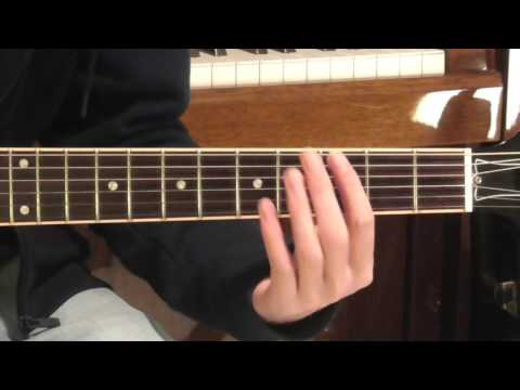 Oasis Acquiesce Guitar Tutorial