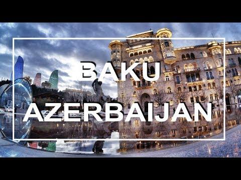 BAKU AZERBAIJAN TRIP | 2017 | XIAOMI YI 4K
