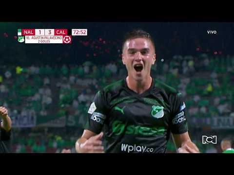 Nacional 1-3 Cali: gol Agustín Palavecino I Deportes RCN