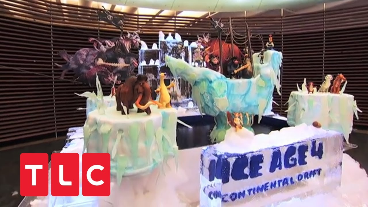 cake boss ice age torte youtube. Black Bedroom Furniture Sets. Home Design Ideas