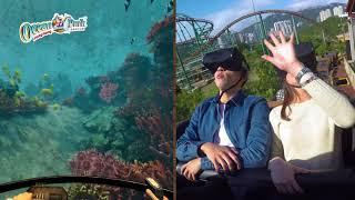 全新VR過山車登場,一架過山車兩種玩法!