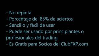 2017 - Indicador Opciones Binarias y FOREX - NO REPINTA