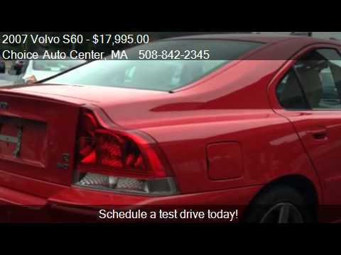 2007 volvo s60 r for sale in shrewsbury ma 01545 youtube. Black Bedroom Furniture Sets. Home Design Ideas