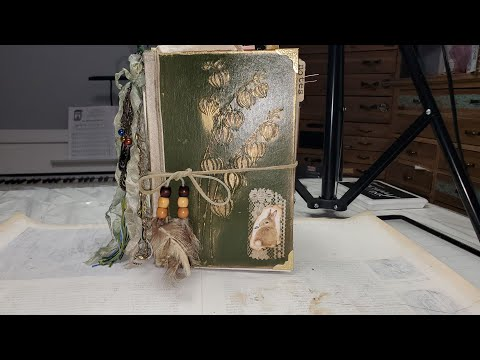 Nature Journal Junk Journal Botanical Journal Woodland Journal Flip Through Part 1 Nature's Way