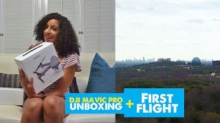 DJI MAVIC PRO Unboxing and First Flight | My New Travel Drone!