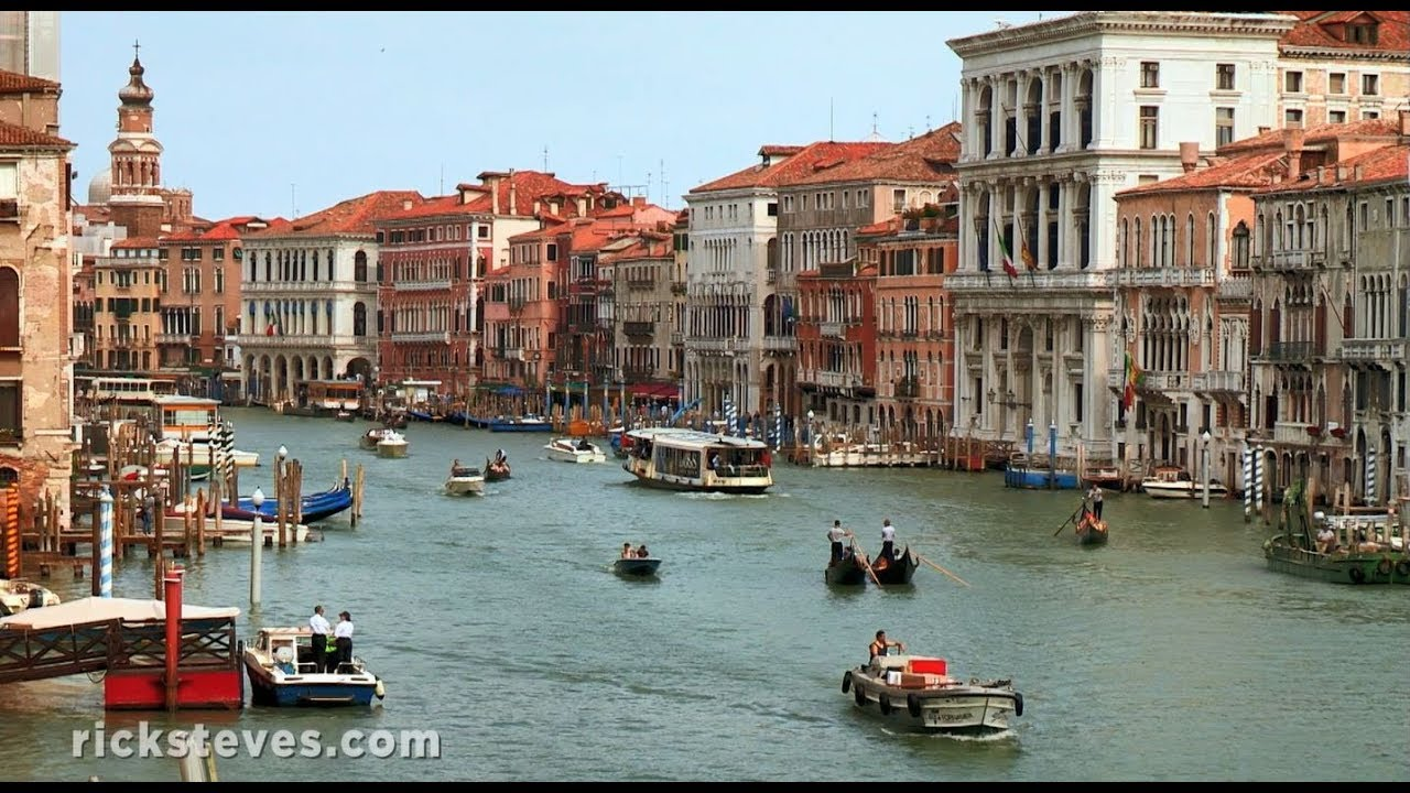 Venice Italy Grand Canal Palaces Youtube