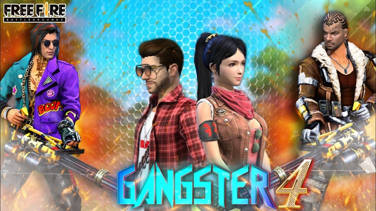 GANGSTER || PART-4 || free fire short film in Tamil || full action🔥and suspect👀 || k2b