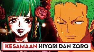 """JODOH?? Inilah 5 Kesamaan """"Zoro dan Hiyori"""" Robin Cemburu!! ( One Piece )"""