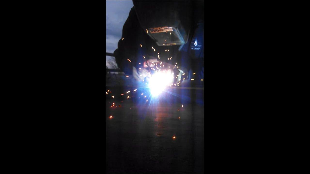 Old Hobart welder, smooth welds