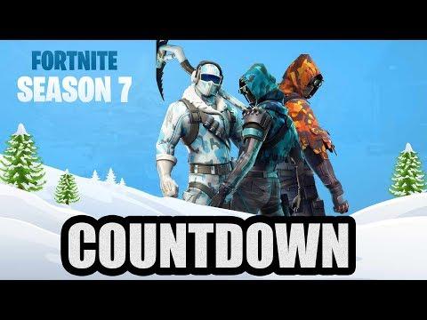 Fortnite Season 7 Live Countdown | Fortnite Best Moments - Ninja, Tfue, Myth etc thumbnail