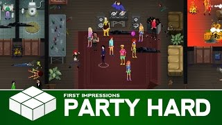 Party Hard | PC Gameplay & First Impressions