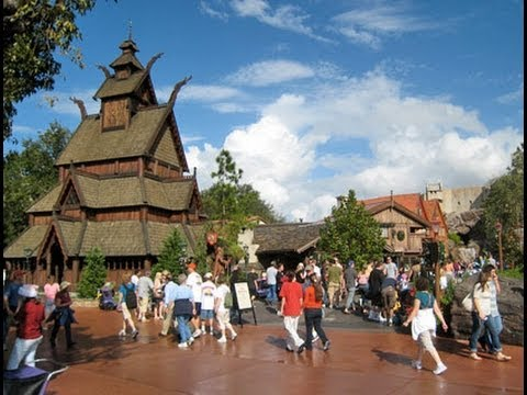 Walt Disney World Epcot Center Norway Pavilion HD