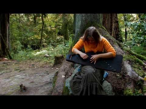 Laima Jansone - Traditional kokle music variation 1