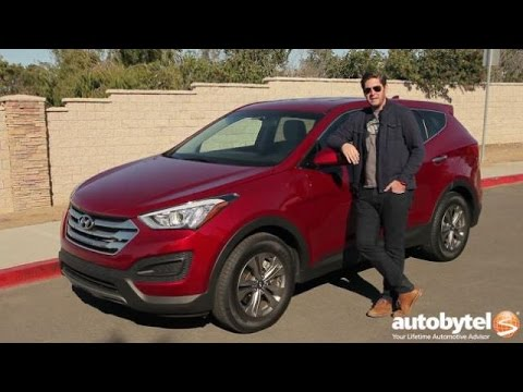 2016 Hyundai Santa Fe Sport Test Drive Video Review
