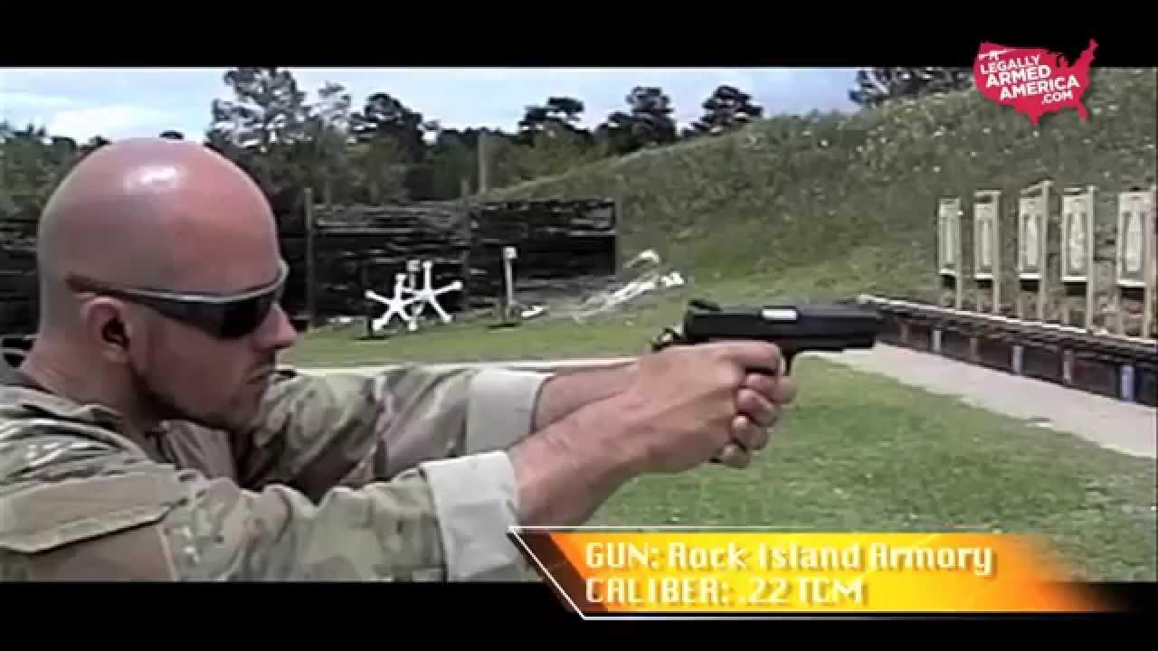 Rock Island 22 TCM 1911 passes the SWAT test