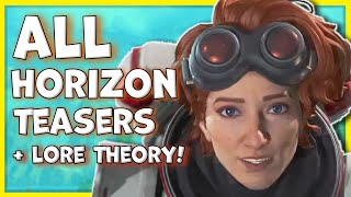 All Official Horizon Teasers So Far! Abilities & Blisk Ash Nemesis Theory - Apex Legends Season 7