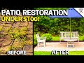 Patio Restoration - DIY Step by Step How to - Easy