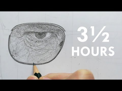 HYPER-REALISTIC Drawing - A Tedious Process